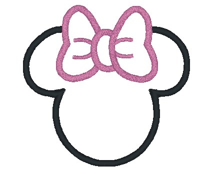 Minnie mouse outline head free download best minnie mouse outline 420x363 best photos of minnie mouse head template printable maxwellsz