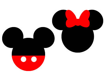 Minnie mouse silhouette. Clipart free download best