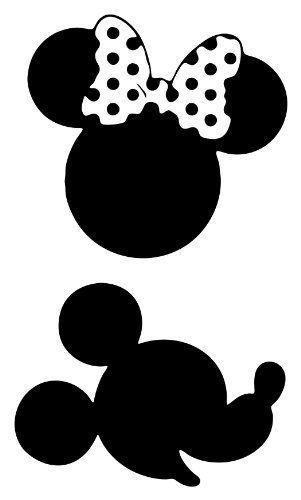 Minnie Silhouette Clipart