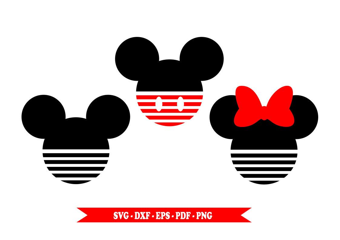 1123x794 Mickey Monogram Svg, Minnie Monogram, Disney Svg, Cartoon Svg