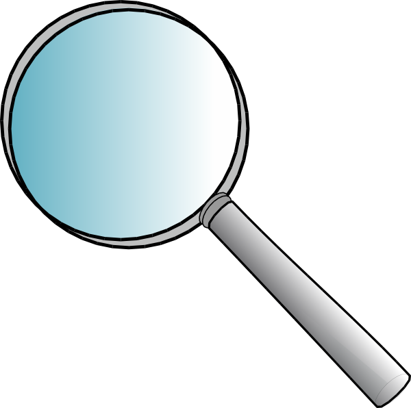 600x596 Magnifying Glass Clip Art Free Vector 4vector