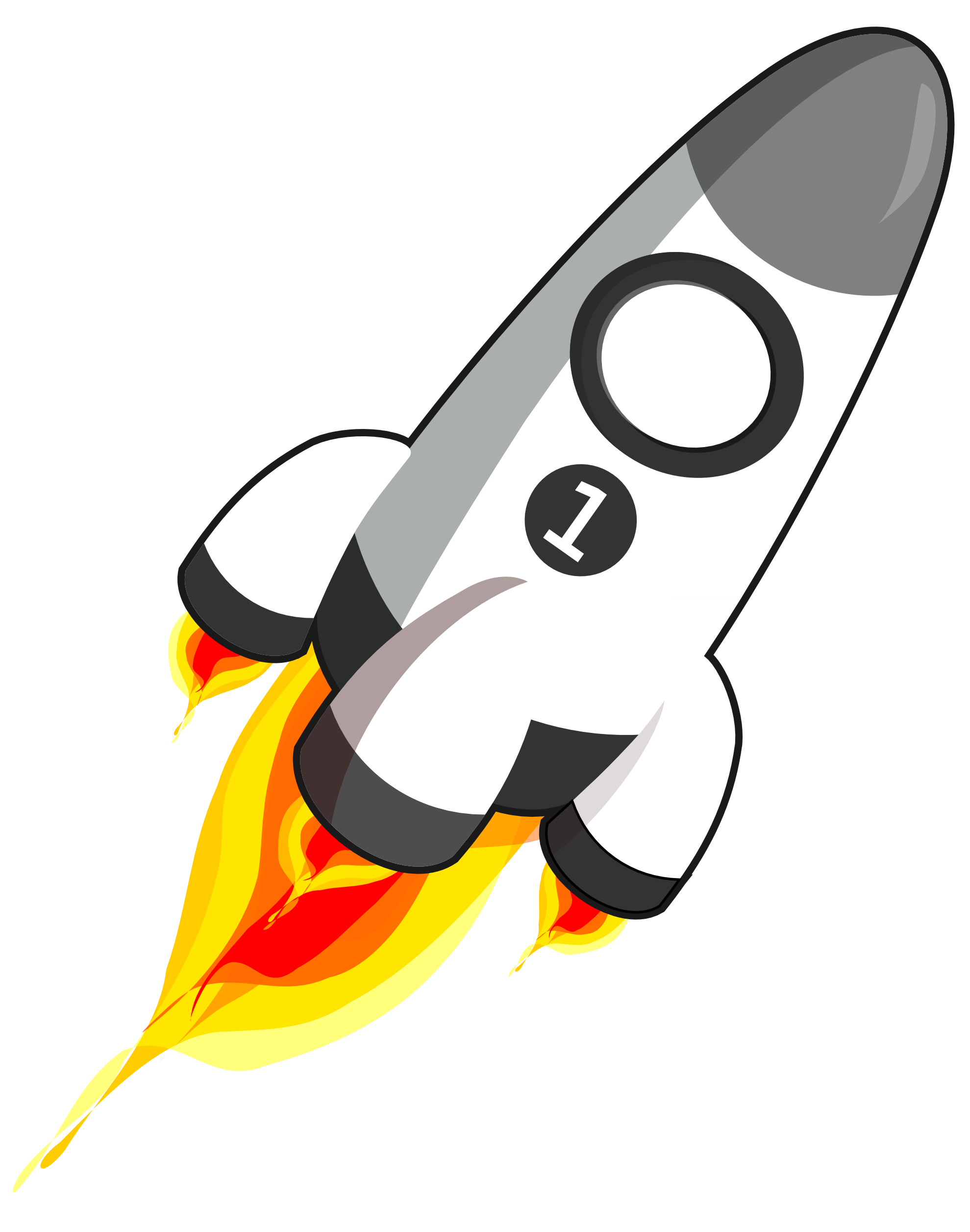 1979x2513 Missile Clipart Bottle Rocket