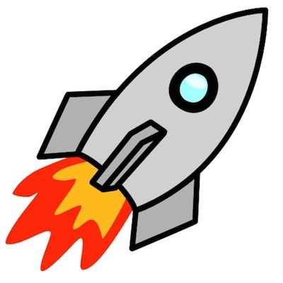 400x400 Missile Launch Clipart