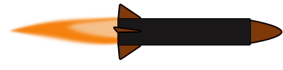 400x100 Free To Use Amp Public Domain Missile Clip Art