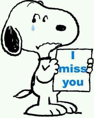 397x500 Snoopy Clipart Missing You