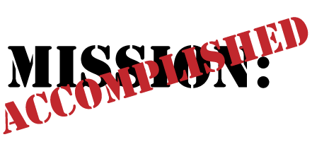 465x211 Mission Accomplished Clip Art Cliparts
