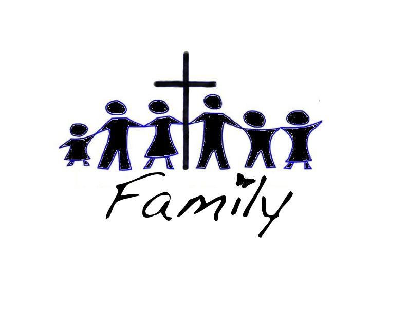 792x612 Christian Family Clipart