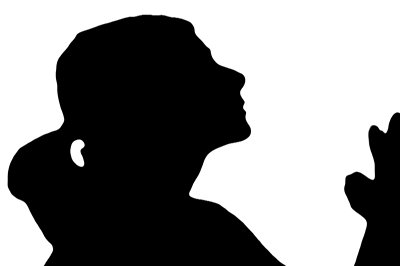 400x266 Clipart Free In Prayer Woman