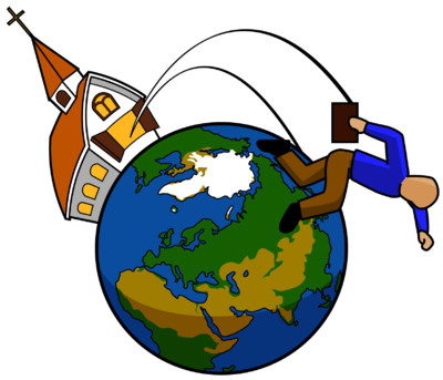400x343 Clipart Missionary