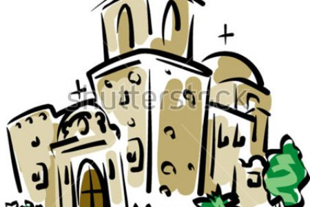 450x300 California Mission Clip Art