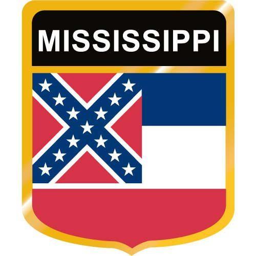 500x500 Mississippi Flag Crest Clip Art