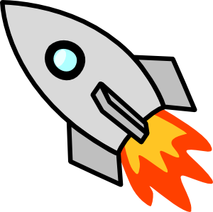 300x299 Missile Clipart Cartoon