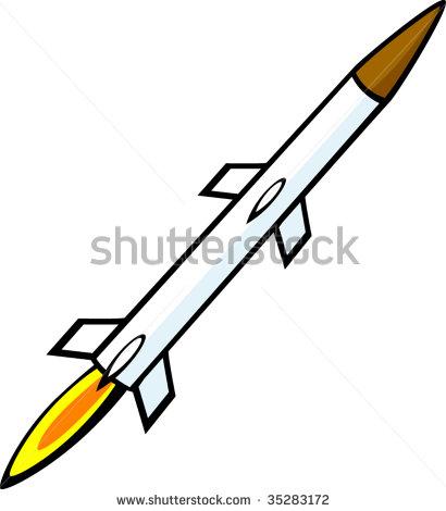 410x470 Rocket Clipart Missile
