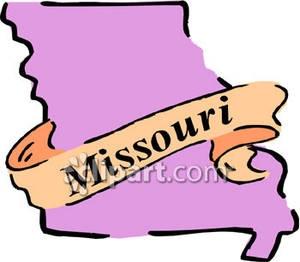 300x262 Missouri State Clipart