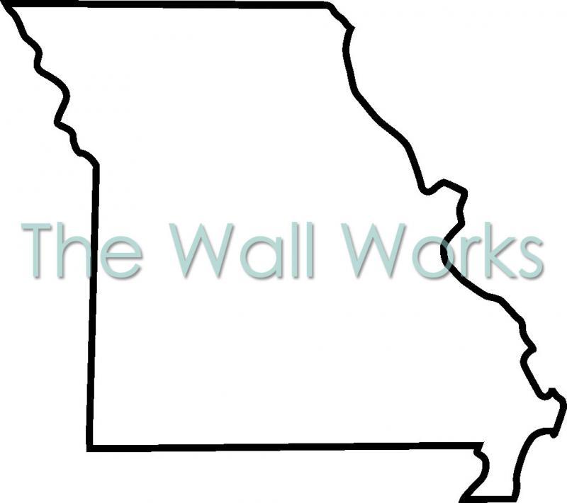 800x710 Missouri Outline Clipart
