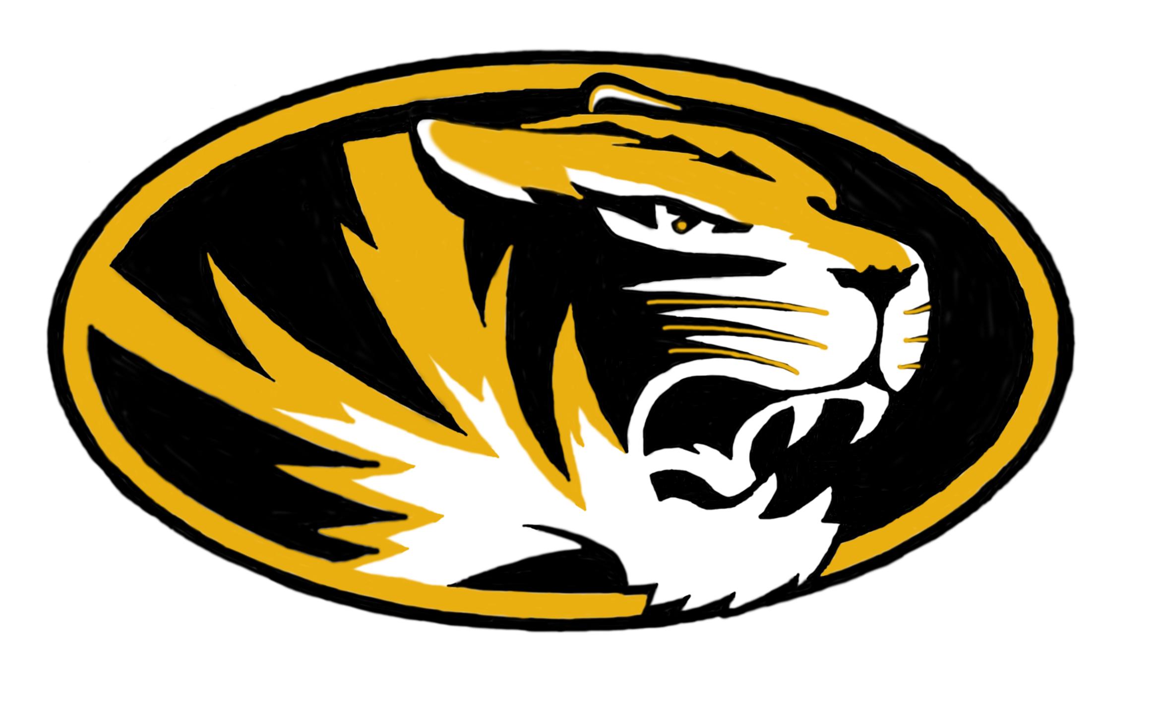 2331x1415 Missouri Tigers Clipart