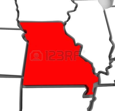450x434 Red State Map Clipart