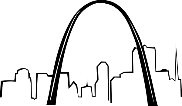 600x350 St Louis Gateway Arch Clip Art Clipart Panda