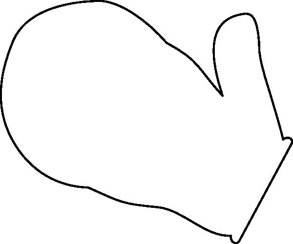 600x500 Mitten Clip Art