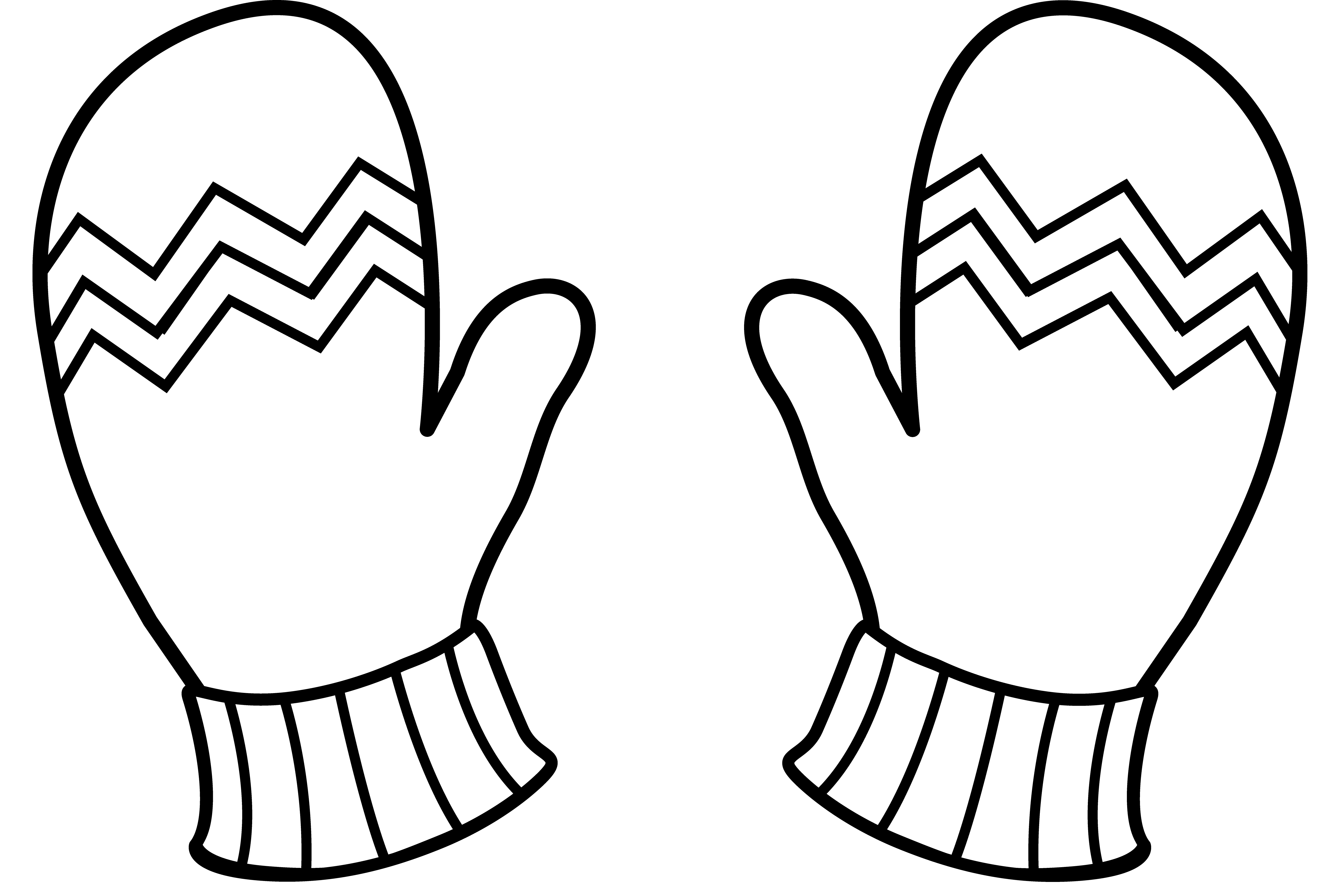 graphic about Printable Mittens named Selection of Mittens clipart No cost down load most straightforward Mittens
