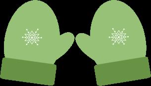 305x174 Winter Mittens Clip Art Clipart Panda