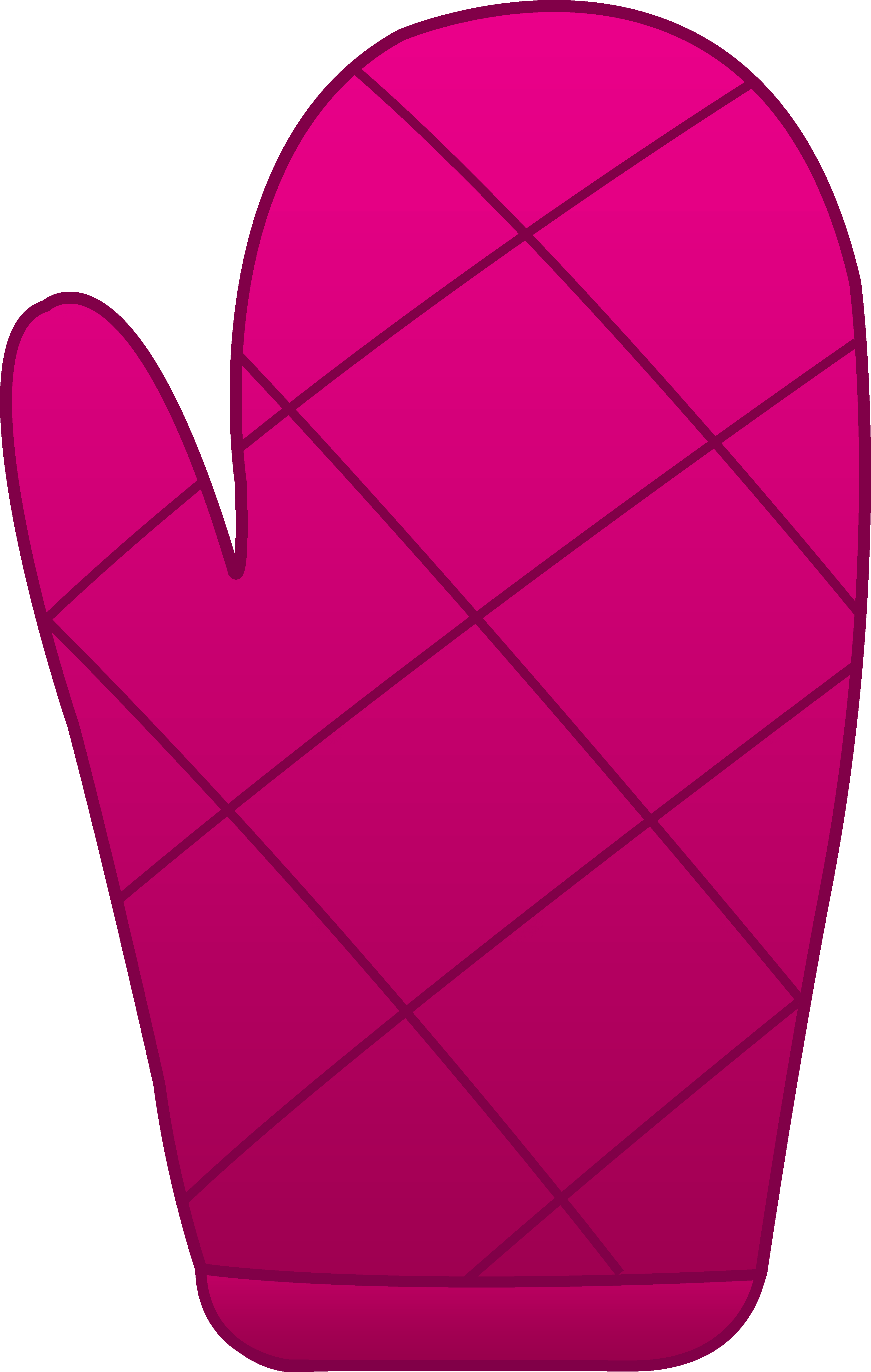 3630x5716 Colorful Mitten Cliparts 196521