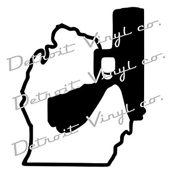 355x355 Michigan Holding Gun, Michigan Holding Pistol, Murder
