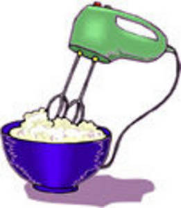 261x300 Clipart Picture Of A Hand Mixer Mixing Batter