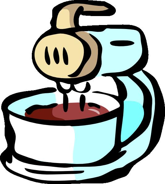 534x596 Food Mixer Clip Art