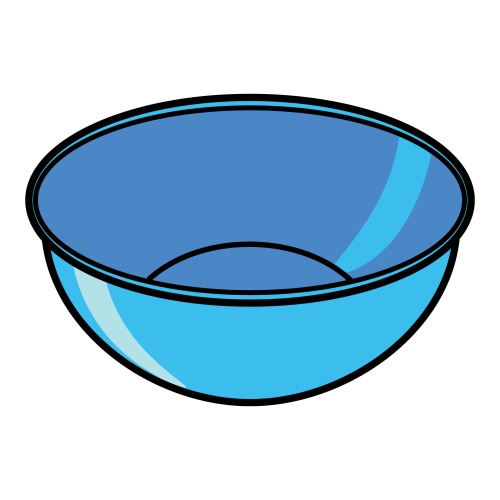 Mixing Bowl Clipart Black And White | Clipart Panda - Free ...  |Bowl Clipart Trail Mix