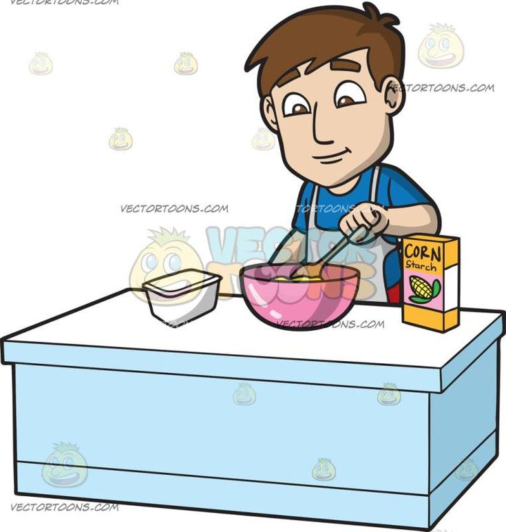 Mixing Ingredients Cliparts