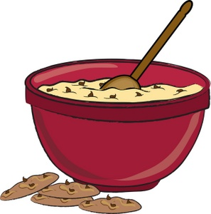 297x300 Cookie Dough Clipart