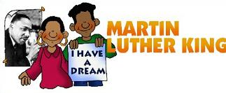 323x133 Free Martin Luther King Day Clipart