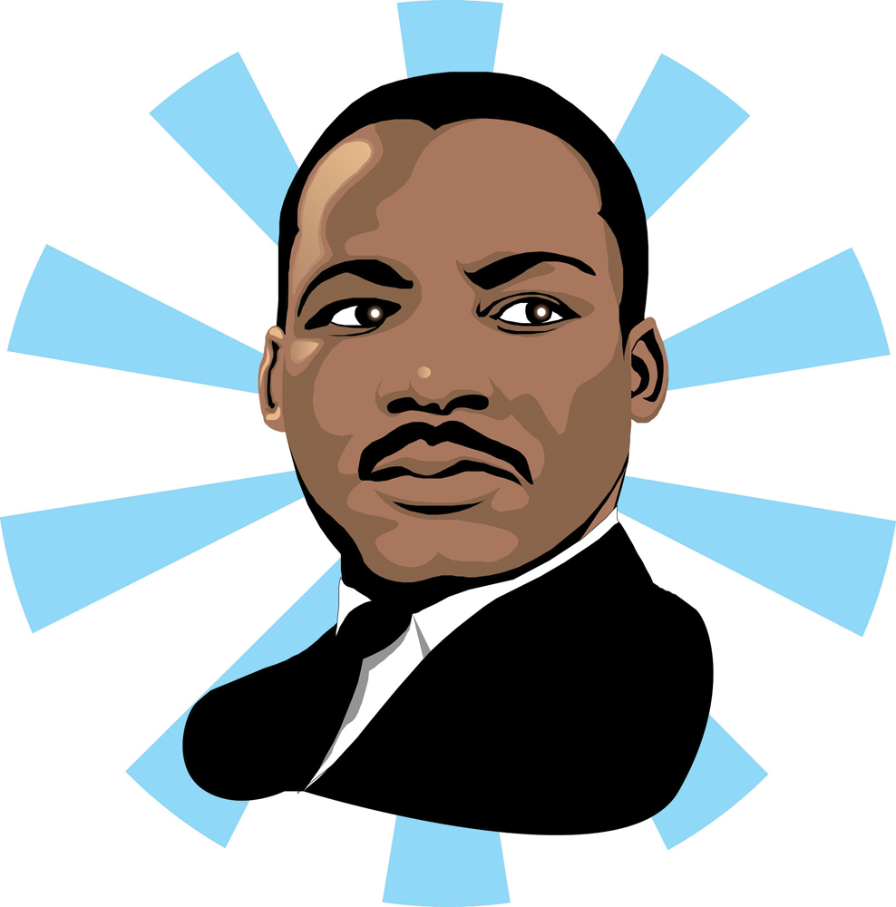 988x1000 Cartoon Pictures Of Martin Luther King Jr