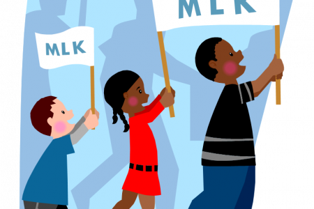 450x300 Civil Rights Day Clip Art