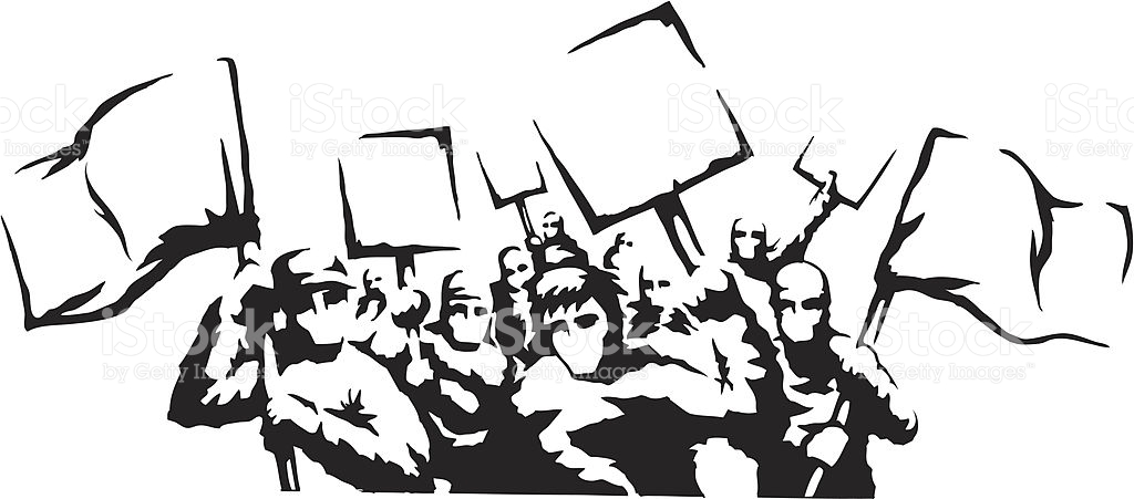 1024x451 Riot Clipart Protest