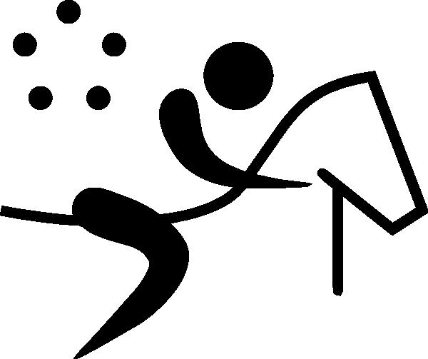 600x503 Olympic Sports Modern Pentathlon Pictogram Clip Art