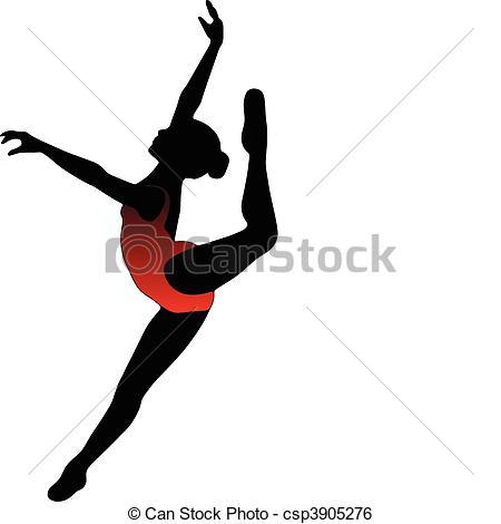 450x470 Dancer Clipart Modern Dancer