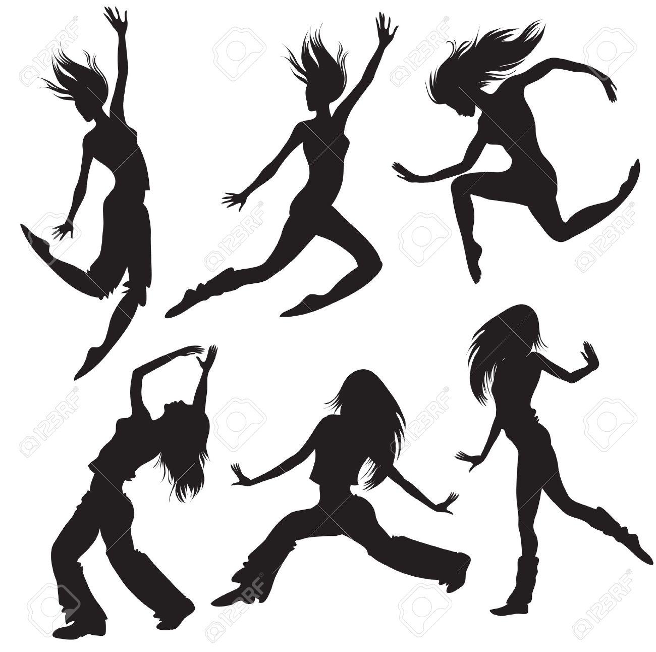 1300x1291 Danse Clipart Modern Dance