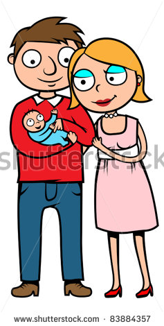 237x470 Mom And Dad Clipart
