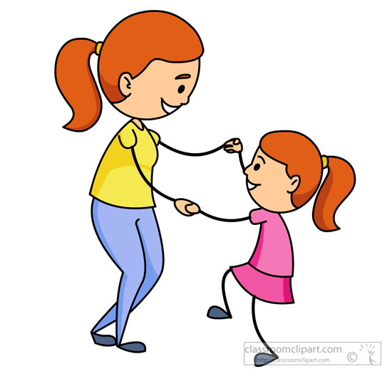 550x528 Mother And Baby Clipart Mother Daughter
