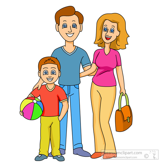 546x550 Mom And Dad Clipart