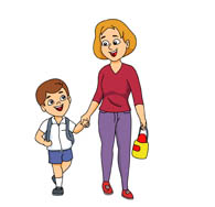 195x188 Mother And Baby Clipart Son