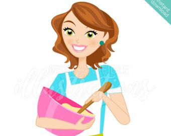 340x270 Brunette Juggling Mom Character Illustration Multitasking