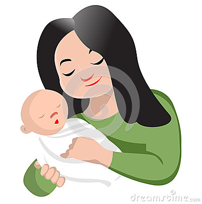 400x404 Mother And Baby Clipart Only Mother