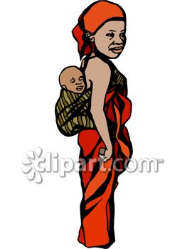 Mom Holding Baby Clipart | Free download best Mom Holding ...