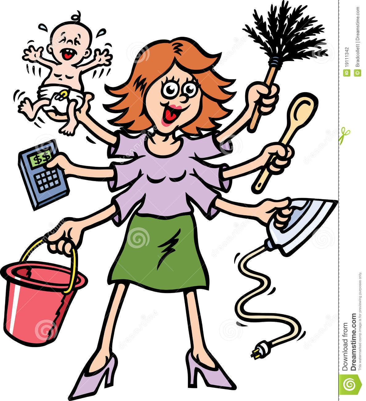 1188x1300 Free Busy Mom Clipart