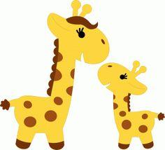 236x214 Mama Baby Animal Clipart