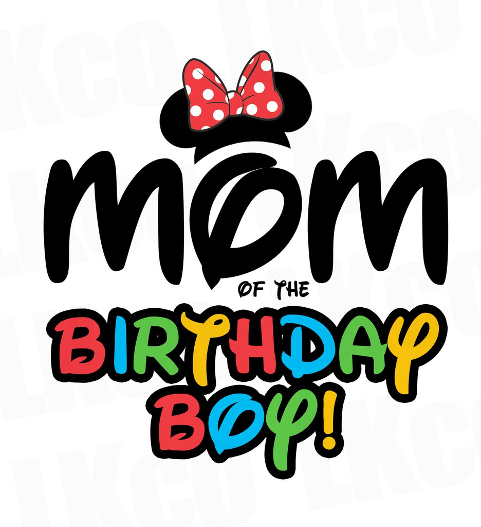 936x1024 Mickey Mouse Iron On Transfer Mom Or Dad Of The Birthday Boy