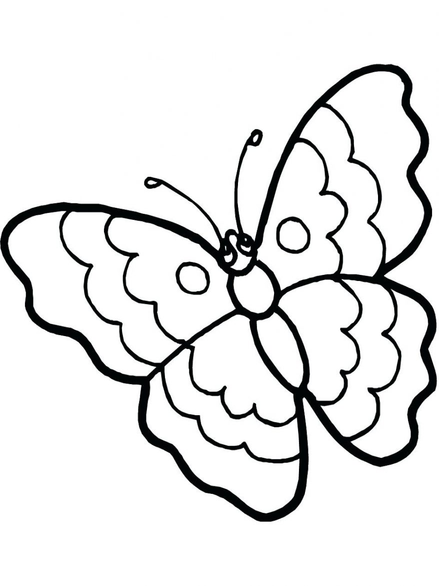 878x1170 Monarch Butterfly Stencil Outline Silhouette Free A 135 Cool